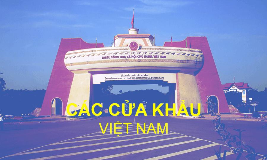 Các cửa khẩu quốc tế tại Việt Nam