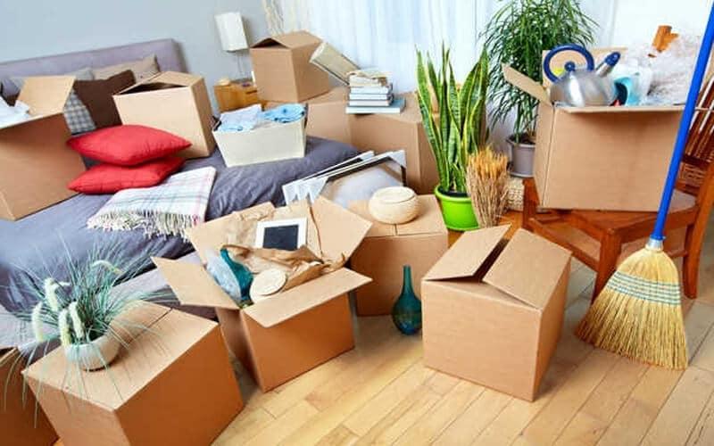 Chuẩn bị sẵn các dụng cụ đóng gói đồ dọn nhà