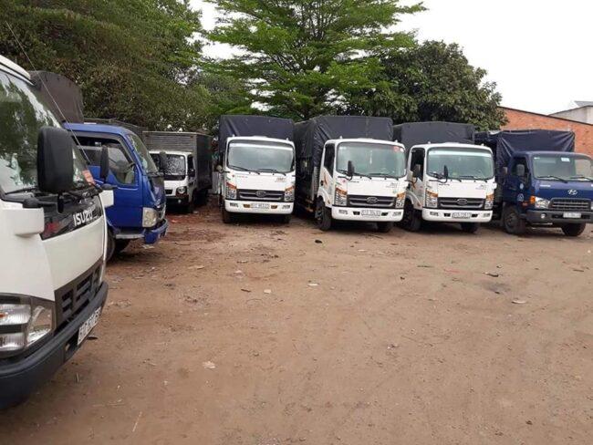 Thuê xe tải chở hàng ở Hà Nội